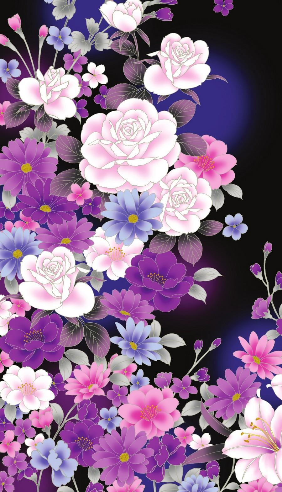 Фото цветы на заставку в телефон